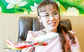 Bà chủ Vietjet trở thành một trong những người giàu nhất thế giới