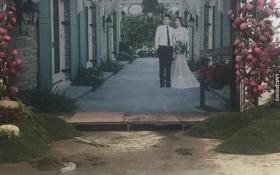 Đám cưới siêu khủng của em trai bầu Thụy