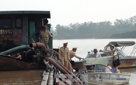 Bộ GTVT báo cáo Thủ tướng vụ nạo vét sông Cầu