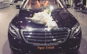 Siêu xe Maybach S500 2017 của Ngọc Trinh, giá bao  nhiêu?