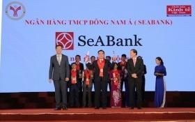SeABank nhận giải thưởng 'Thương hiệu mạnh Việt Nam' lần thứ 8 liên tiếp