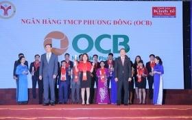 OCB liên tục được vinh danh các giải thưởng, danh hiệu uy tín