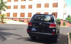 Ngân hàng Agribank tặng Land Cruiser V8 đưa đón Bí thư Tỉnh ủy