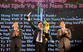 PVcomBank đạt danh hiệu Doanh nghiệp Thương mại Dịch vụ tiêu biểu 2016