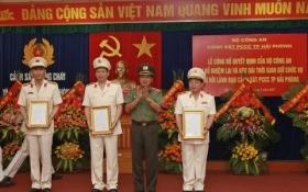 Bộ Công an bổ nhiệm lại một số vị trí lãnh đạo đơn vị trực thuộc