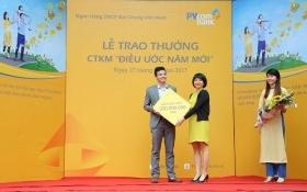 Khách hàng PVcomBank nhận giải thưởng hàng trăm triệu đồng