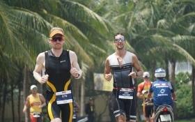 Đà Nẵng: Hàng nghìn 'người thép' tranh tài quyết liệt ở Ironman 70.3 mùa 3