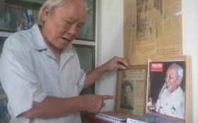 Chuyện về ông giáo làng gần 50 năm sưu tầm tư liệu về Bác Hồ