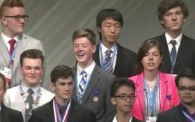 'Cánh tay robot' đạt giải 3 cuộc thi Khoa học kỹ thuật quốc tế tổ chức tại Mỹ