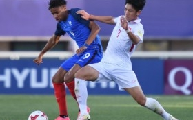 HLV U20 Pháp: 'U20 Honduras nhanh và tốc độ hơn U20 VN'
