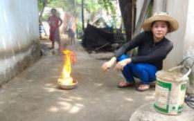 Không phát hiện rò rỉ xăng trong vụ nước giếng bốc cháy