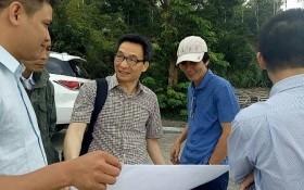 Phó Thủ tướng Vũ Đức Đam âm thầm thị sát bán đảo Sơn Trà
