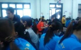 Công nhân công ty TNHH Ivory Việt Nam trở lại làm việc