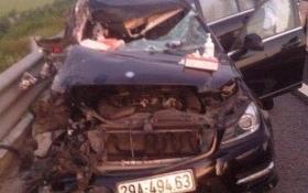 Ô tô con va chạm với xe tải trên cao tốc Hà Nội - Hải Phòng: 4 người thương vong