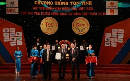 """OCB: """"Top 20 nhãn hiệu hàng đầu Việt Nam 2016"""""""